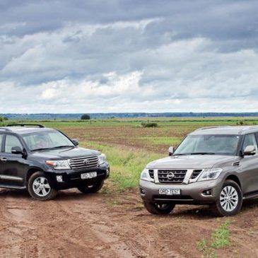 Чей интеллект круче? У Toyota Land Cruiser 200 или у Nissan Patrol?