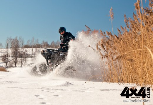 Тюнинг Yamaha Grizzly 700