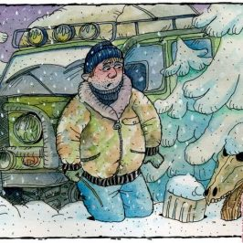 Внедорожник зимой