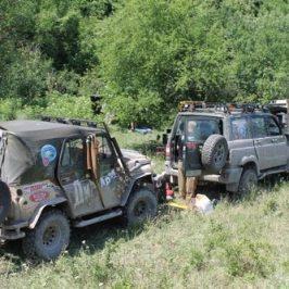 УАЗ Крым экспедиция трофи