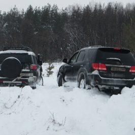 Тойота бездорожье зима