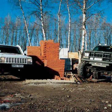 Jeep Cherokee vs Jeep Cherokee. Или что можно сделать из кирпича