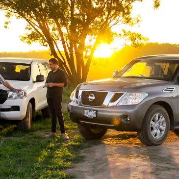 Nissan Patrol vs Toyota Land Cruiser 200