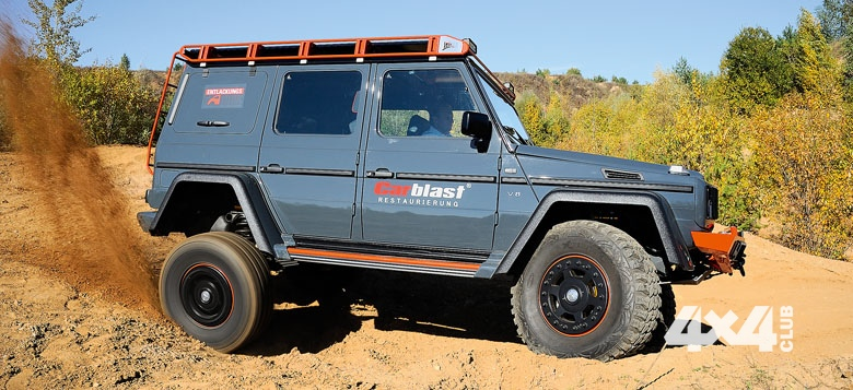 Mercedes G class tuning offroad