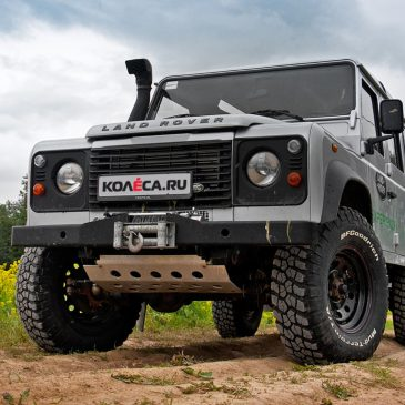 Тест-драйв Land Rover Defender 110