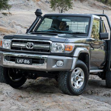 Тридцатилетний пикап Toyota получил пять звезд за краш-тест