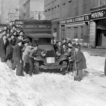 История создания зимних шин
