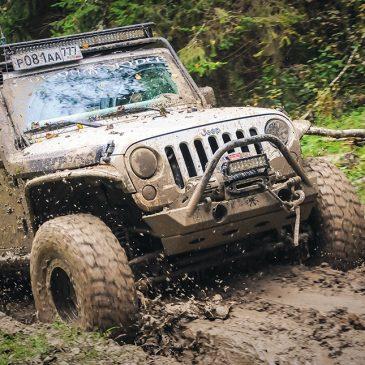 Американский внедорожник Jeep Wrangler Rubicon